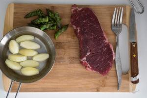 Beef Meat in vegetable sauce