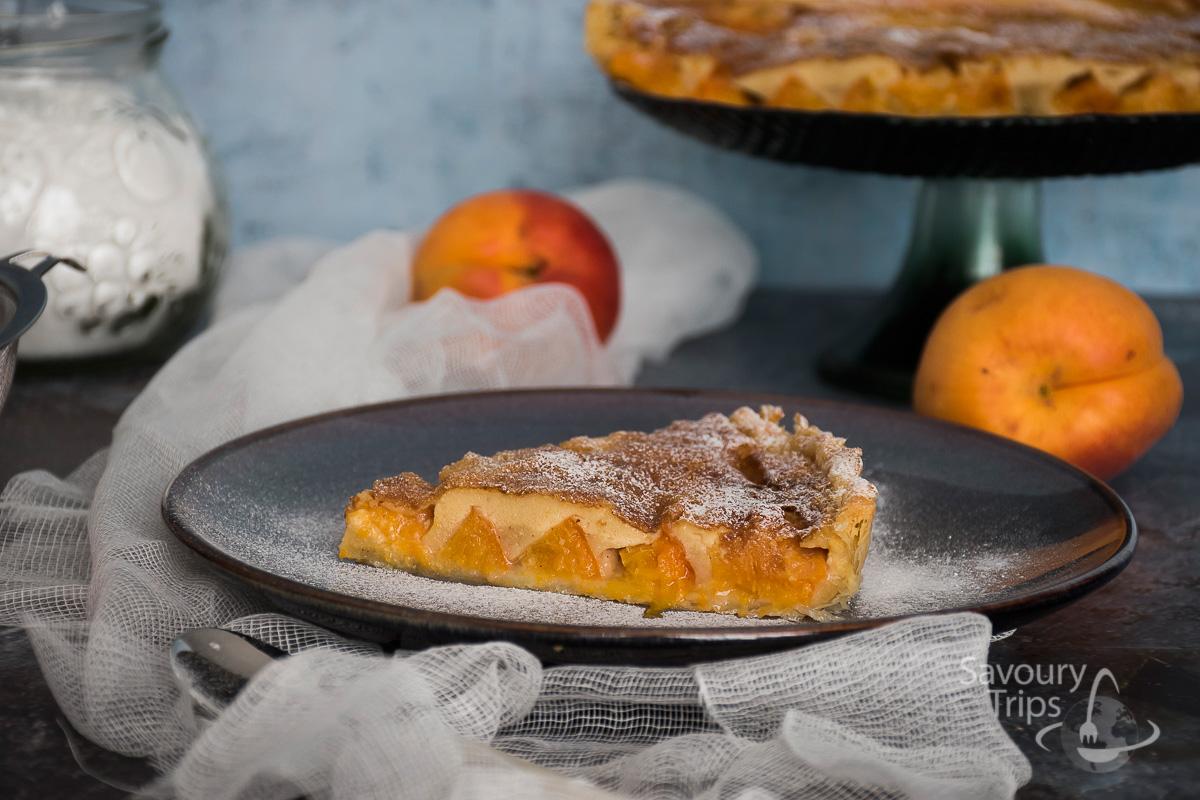 Clafoutis sa kajsijama / Clafoutis with apricots