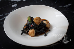 Recept za Taljatele St. Jacques u American sosu