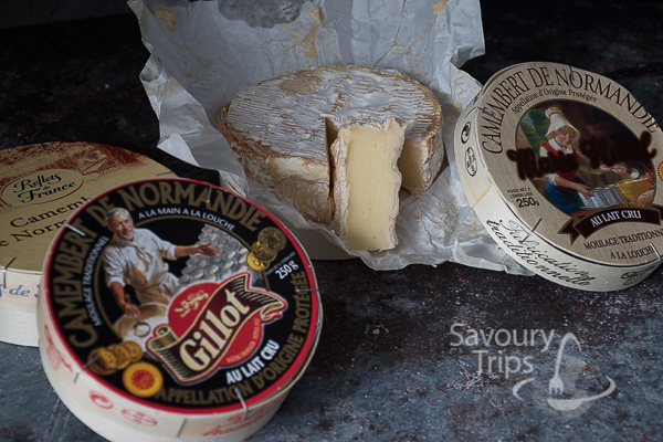 Francuski sir Camembert topljen sa povrćem