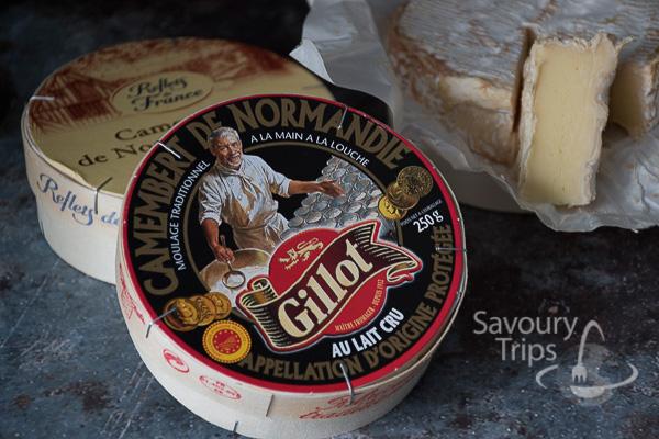 Camembert iz Normandije