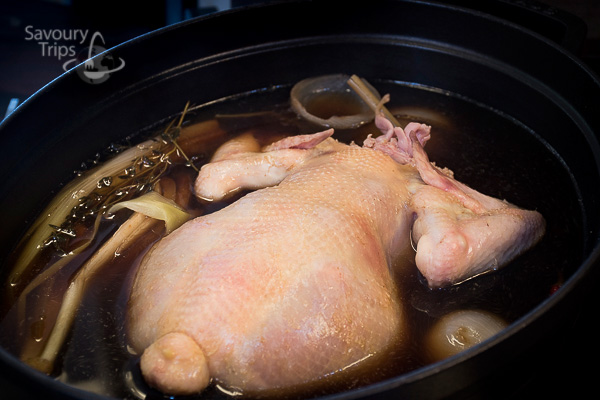 Poširana piletina